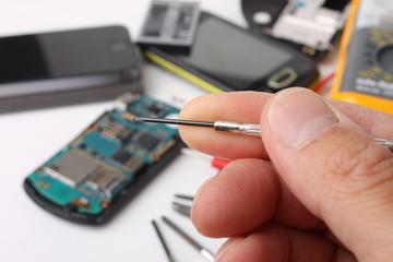 Smartphone e telefoni in riparazione