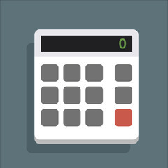 CalculatorWhiteVectorIcon