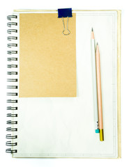 Note and Pencil