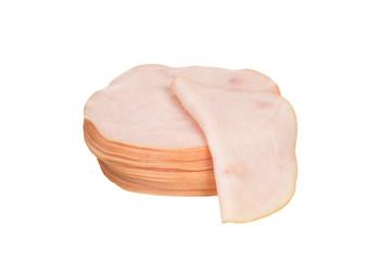 isolated slice chicken