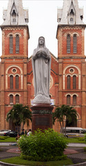 The cathedral Notre Dame de Saigon in Ho Chi Minh City.