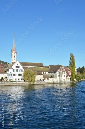 canvas print picture Stein am Rhein, Switzerland