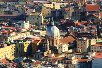 Napoli, panorama da Castel S. Elmo