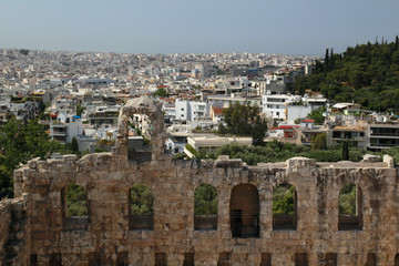 The Odeon of Herodes Atticus, Athens