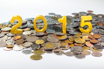 2015 on coins