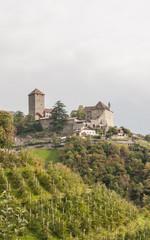 Algund, Dorf Tirol, Schloss Tirol, Vinschgau, Südtirol, Italien