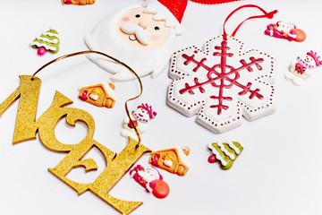 Noel and christmas elements