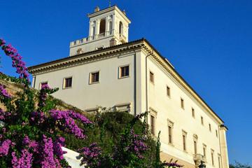 Pincio - Villa Medici vista da Viale Trinità dei Monti