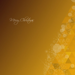 Christms Tree Background Yellow
