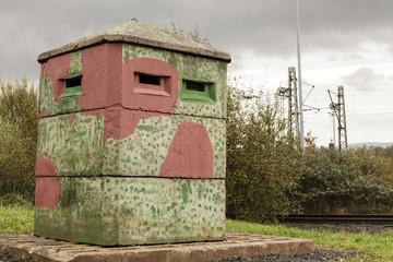 Beobachtungsbunker der ehemaligen DDR-Grenze