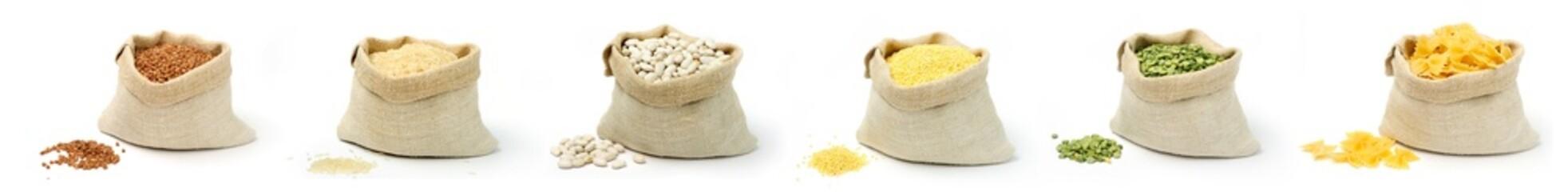 cereals in bags