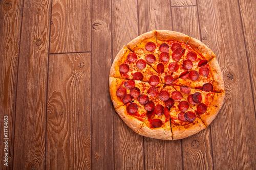 canvas print picture Pizza