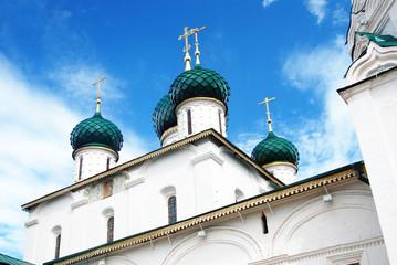 Church of Elijah the Prophet in Yaroslavl (Russia). UNESCO Site.