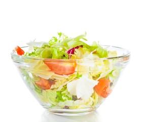 Italian fresh salad isolated