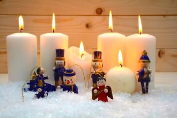 besinnliche Weihnachtszeit - Christbaumschmuck