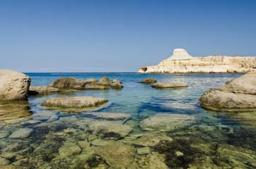 Marsalforn beach - Gozo (Malta)