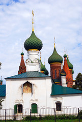 Old Russian orthodox church building.