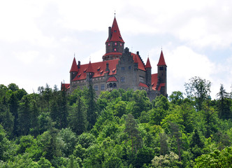 Bouzov Castle, Czech Republic, Europe