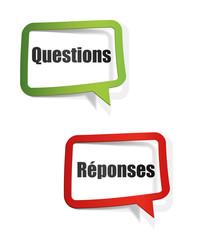 bulle : questions / réponses