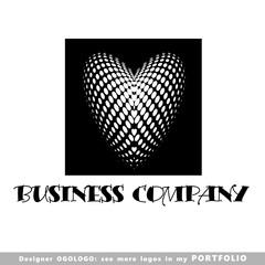 logo, heart, vector, illustrations, arts, dot