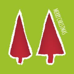 Vector Christmas greeting card design.