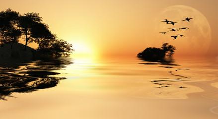 Asia Sunrise
