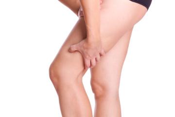 Muskelkater im Oberschenkel - isoliert