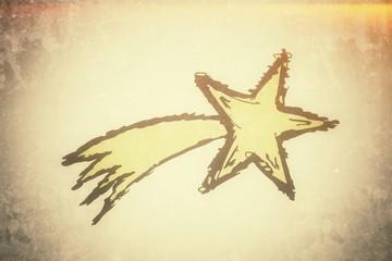 goldener Bethlehem-Stern