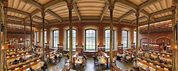 Staatsbibliothek Stockholm Panorama