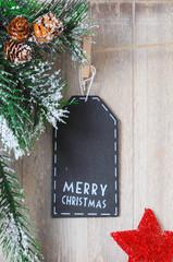 Schild Merry Christmas