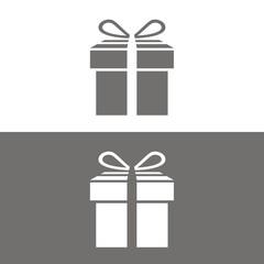 Icono regalo BN