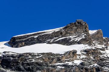 La vetta del Monte Furggen - 3.492 m.s.l.m
