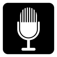 Microphone symbol button