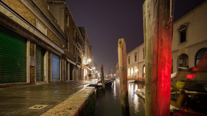 Murano Venice by night