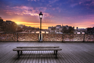 Pont des arts Paris France