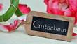 Gutschein - Rosenblüten & Bambus