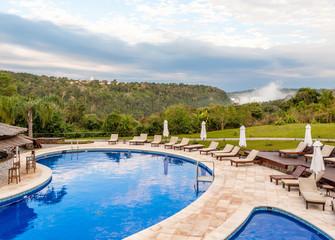 luxury vacation in the jungle near the Iguazu Falls, Argentina