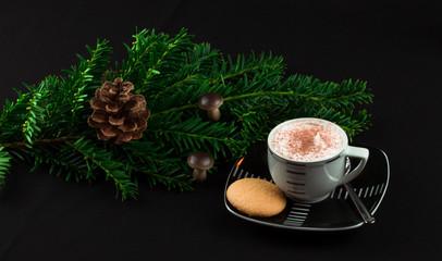 Weihnachtlicher Kaffee