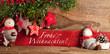canvas print picture - Weihnachts deko