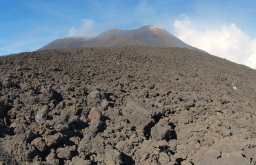 Etna Summit Craters Panorama, Sicily