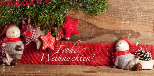 canvas print picture Weihnachts deko