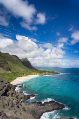 Beautiful Hawaii landscape