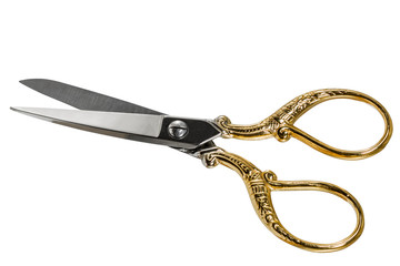Scissors, isolated on white background, with clipping path