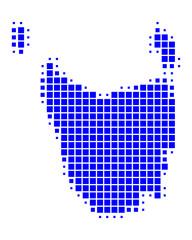 Karte von Tasmanien
