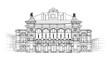 Vienna State Opera House, Austria. Theater Wiener Staatsoper.