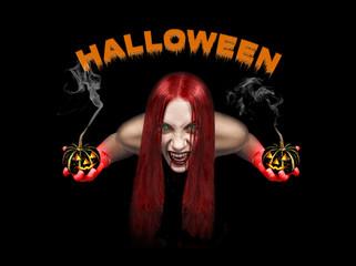 vampire woman- halloween