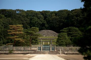 Tomb of Emperor Meiji, Kyoto, Japan