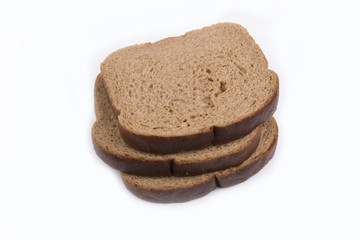 Closeup of slices of bread (background, wallpaper)