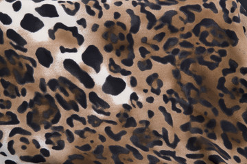 Beautiful animal print leopard background / wallpaper