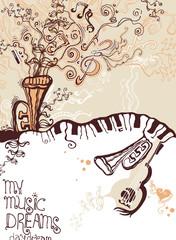 My music dreams.